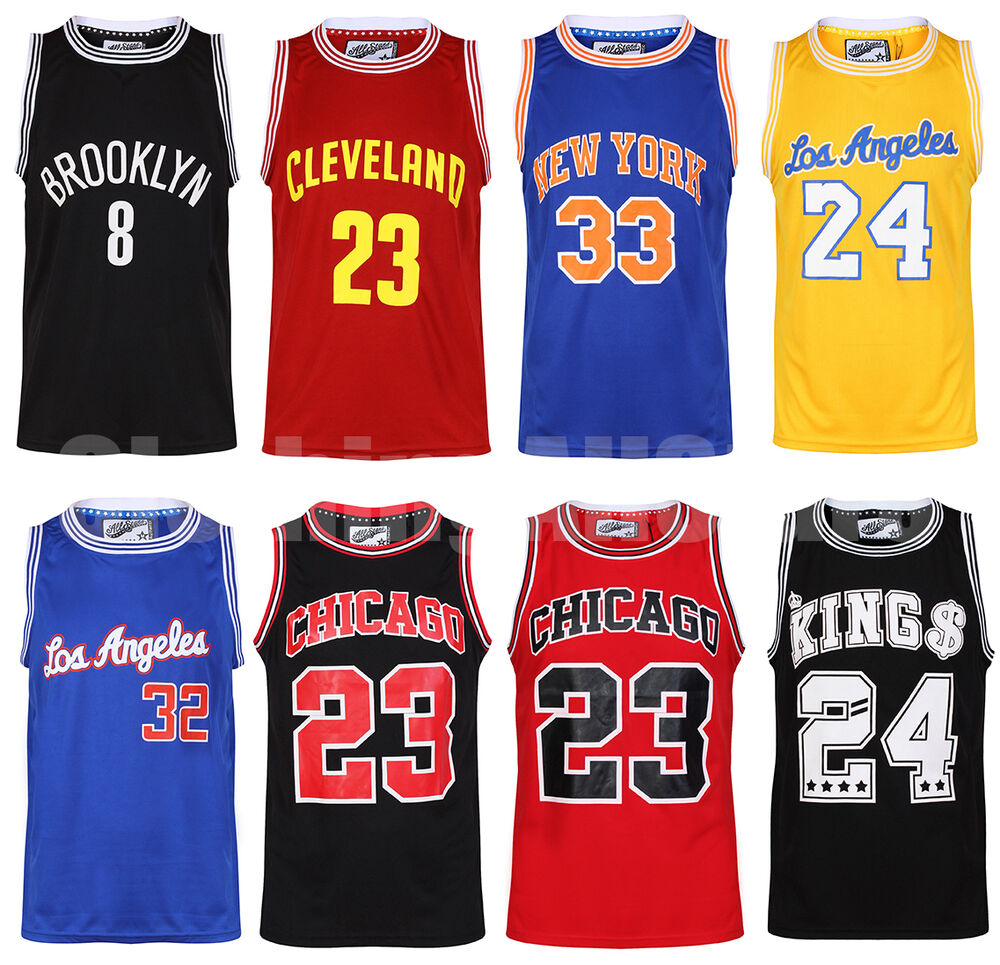 Mens Basketball Jerseys Casual American Sports Vests Top