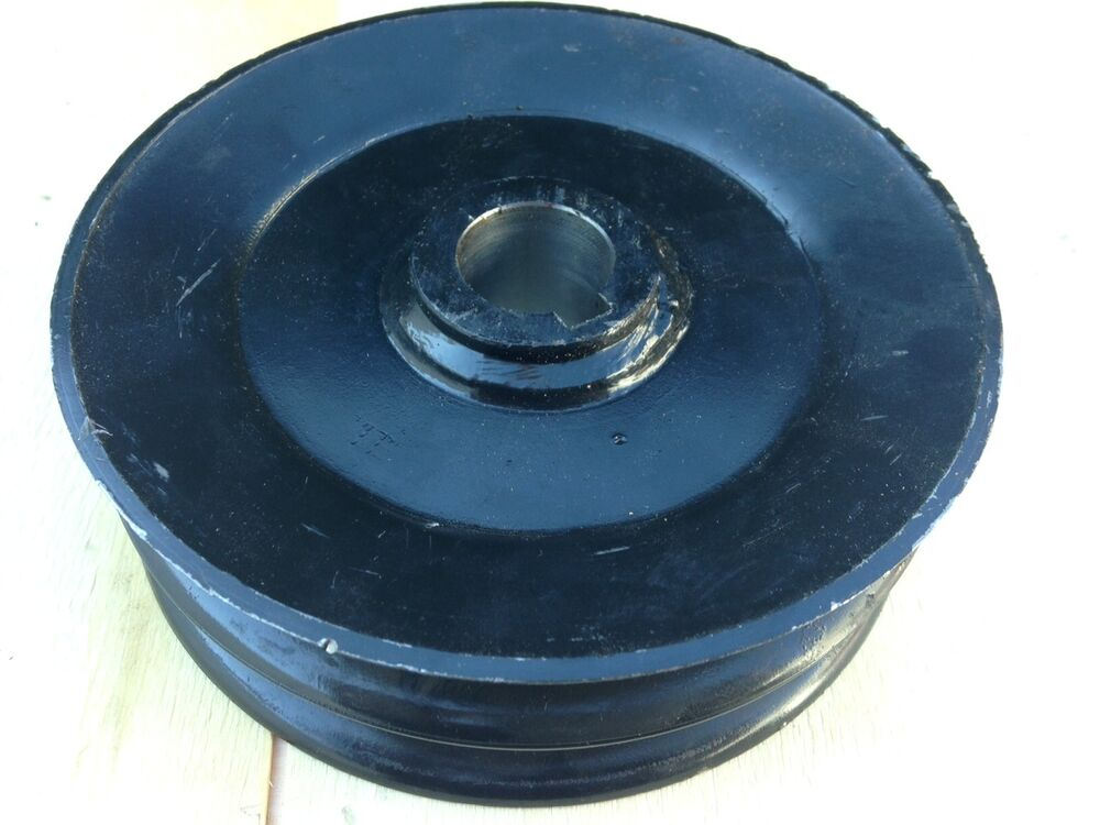 Finish Mower Spindle Assembly : Caroni maschio finish mower double belt spindle pulley