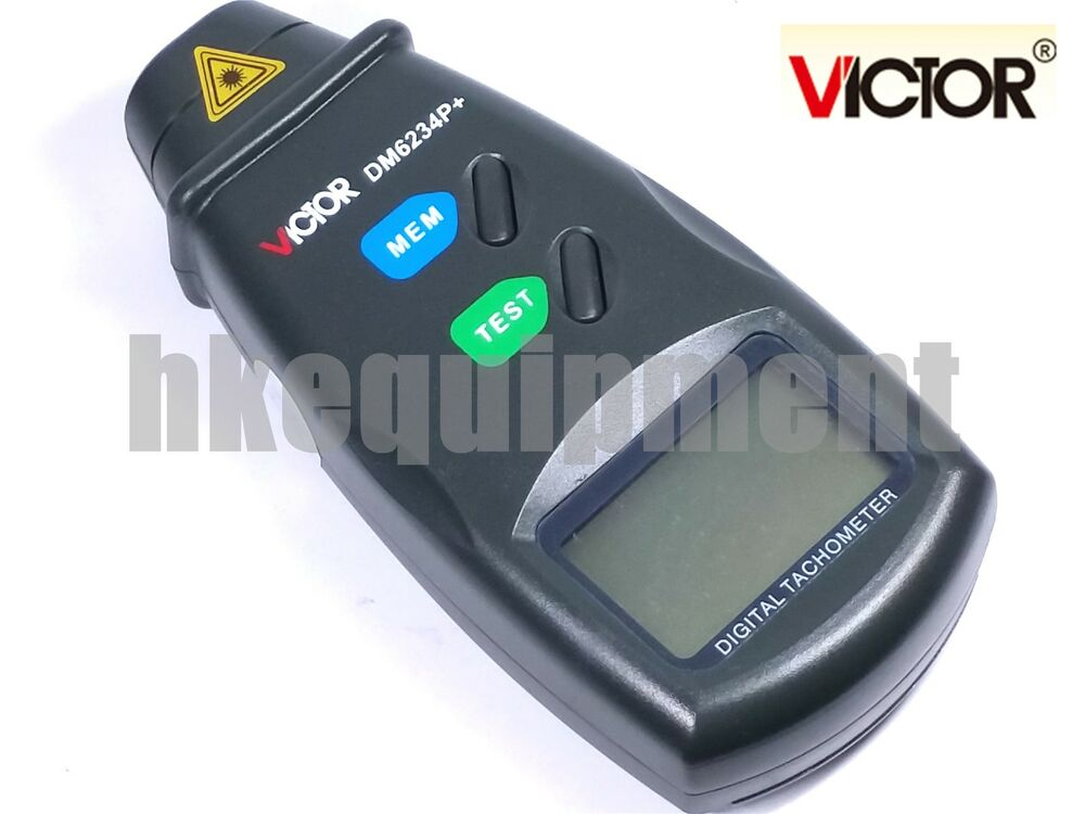 Victor Dm6234p Digital Photo Laser Non Contact Tachometer