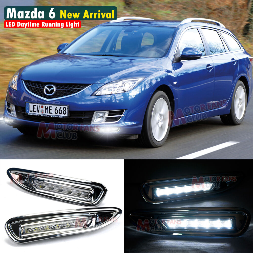 LED Daytime Running Light For Mazda 6 Atenza DRL 2007 2008