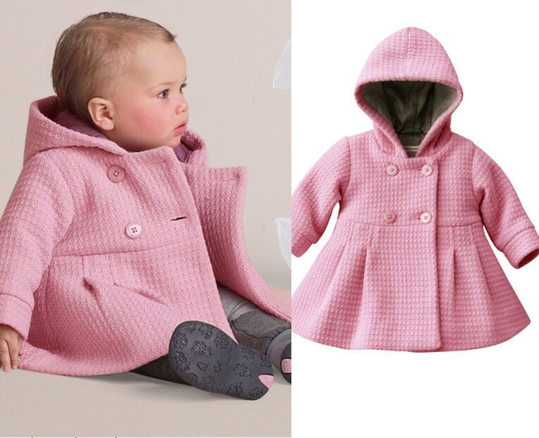 Cozy up with warm outwear options for baby girls from Tea and others like Patagonia.