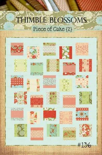 layer cake quilt patterns of cake 2 quilt pattern 136 thimble blossoms layer 5430