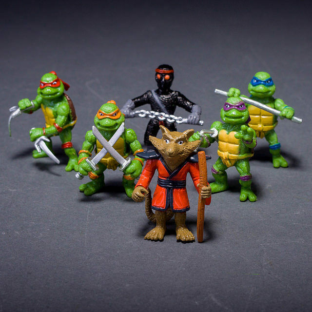 Mini Ninja Toys : Teenage mutant ninja turtles classic figures collection