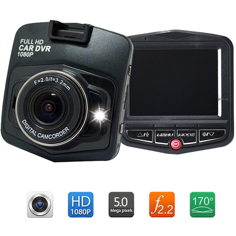 2 4 hd 1080p auto car dvr cctv dashcam kamera berwachung. Black Bedroom Furniture Sets. Home Design Ideas