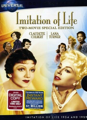 Imitation of Life (1934/1959) [Two-Movie Special Edition] [2 Discs] [I [DVD NEW]