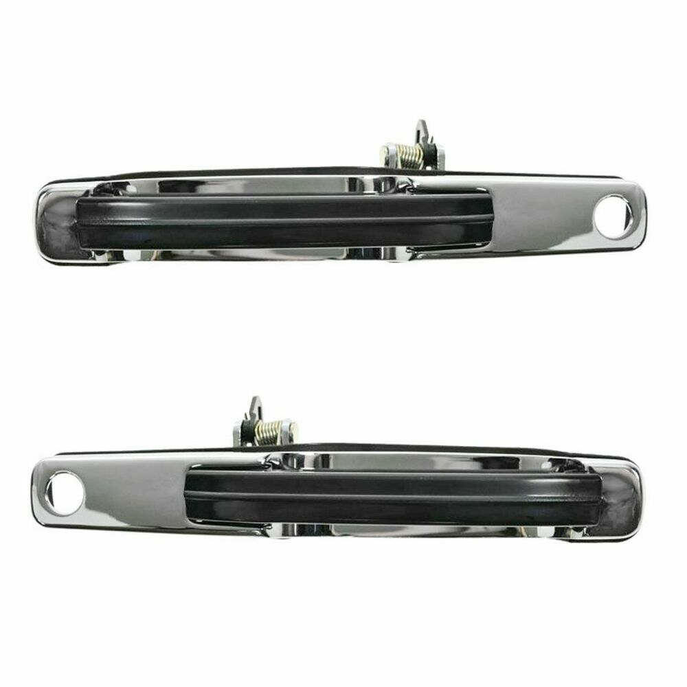 Front Exterior Door Handle Outside Pair Set For 90 97