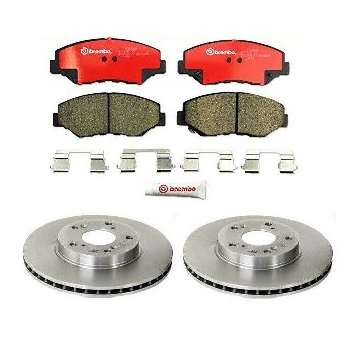 Honda Accord CRV Element Acura ILX Set of 2 Front Brembo Disc Brake Rotor & Pads | eBay