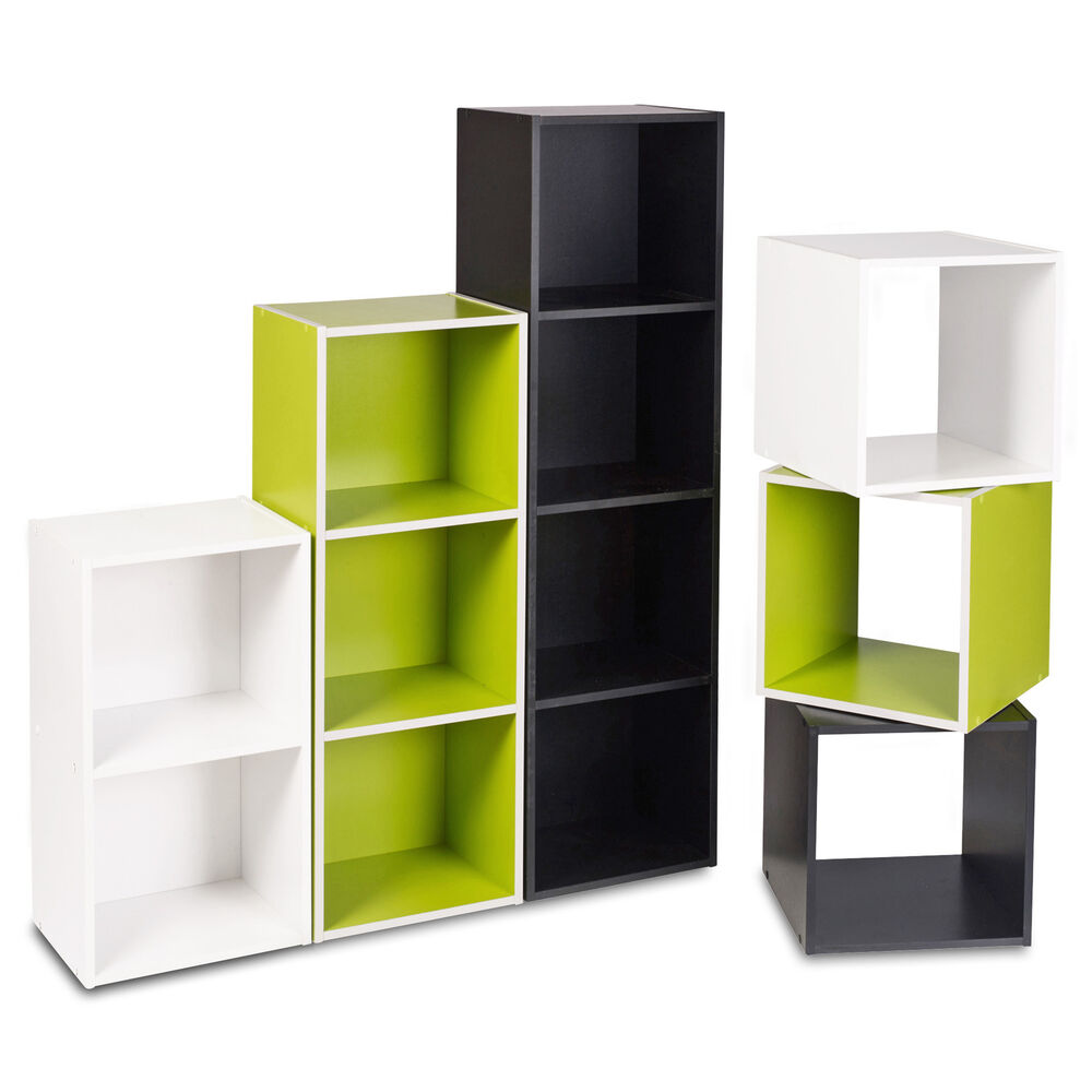 Do It Yourself Home Design: 1, 2, 3, 4 Tier Wooden Bookcase Shelving Display Shelves