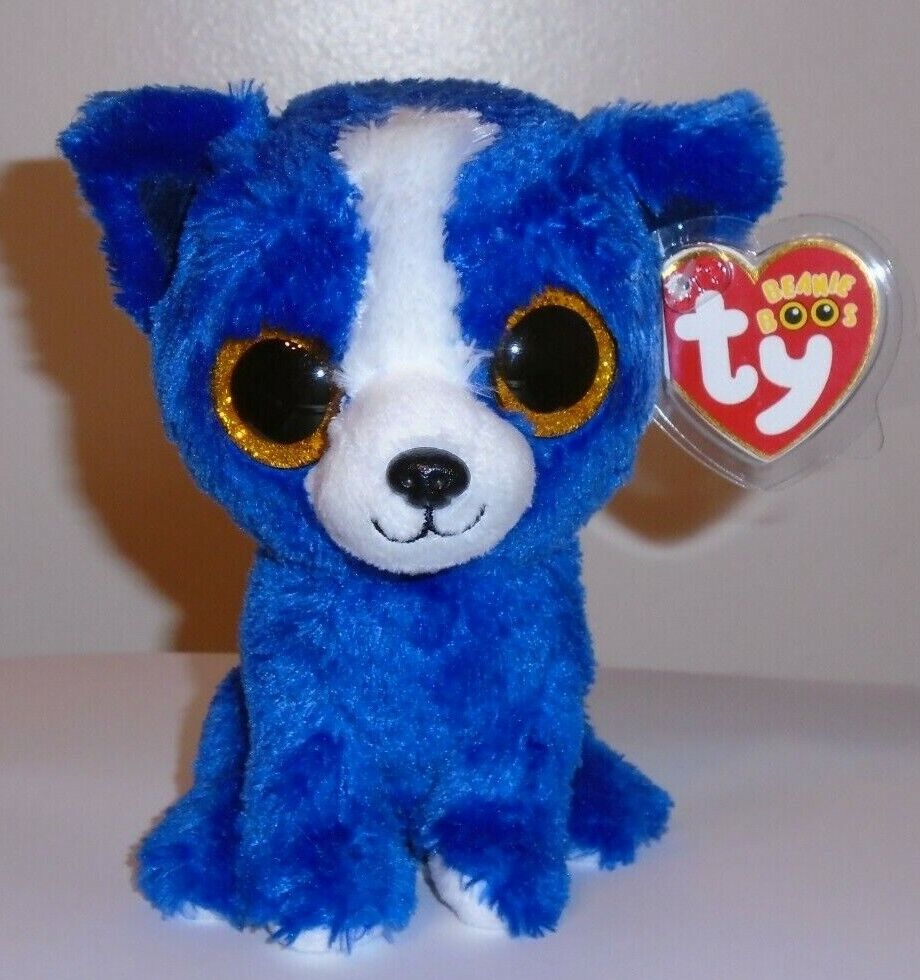 Ty Beanie Boos T Bone The Dog Gift Show Exclusive