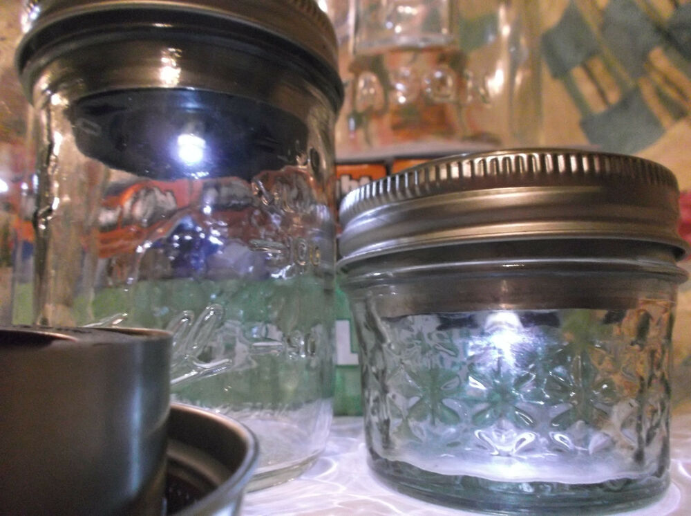 1 New Solar Led Lids Solar Lights For Mason Jar Fruit
