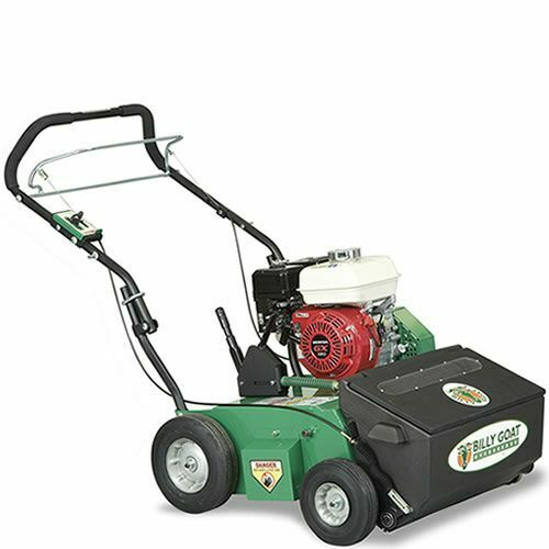 billy goat 20 162cc honda overseeder with auto drop ebay. Black Bedroom Furniture Sets. Home Design Ideas