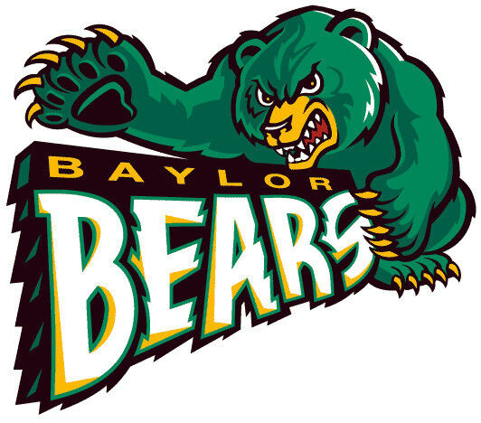 Football Baylor Free Coloring Pages
