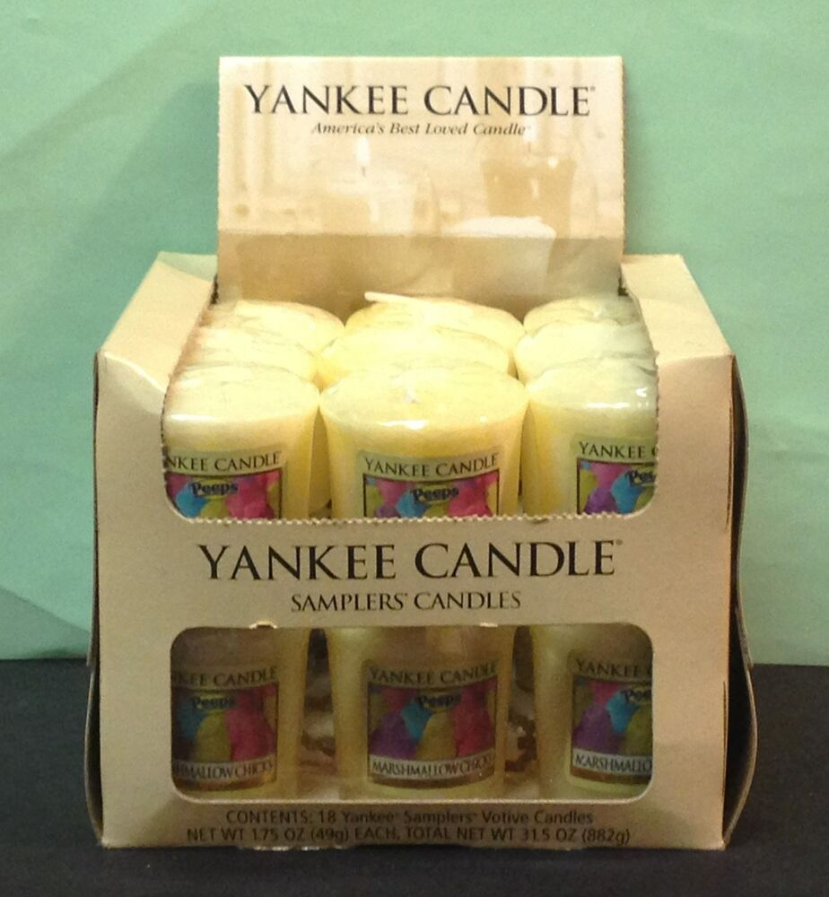 P z 18 yankee candle votive candles by the case 35 scent for Most popular candles 2017