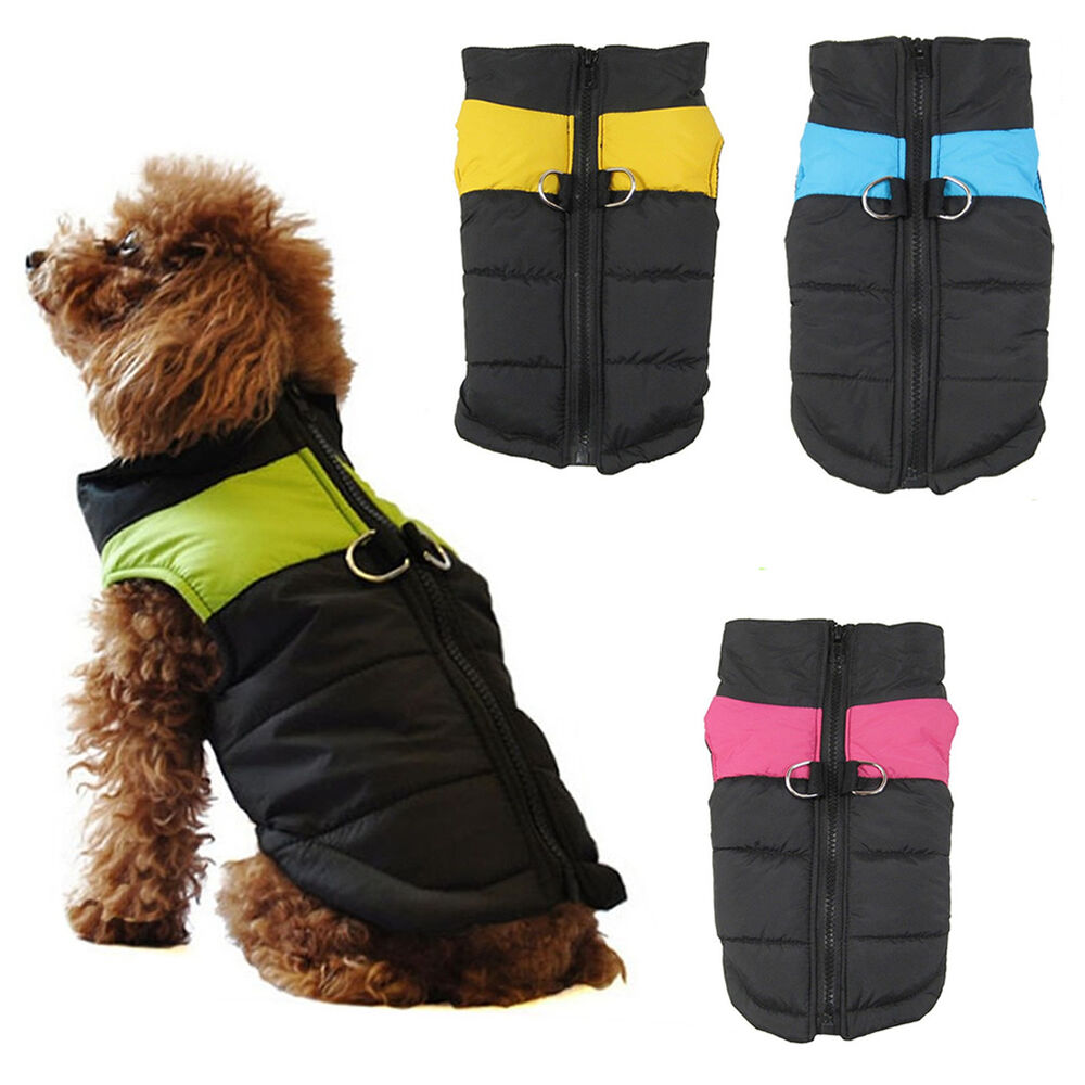 Comfortable Waterproof Pet Dog Clothes Winter Warm Vest ...