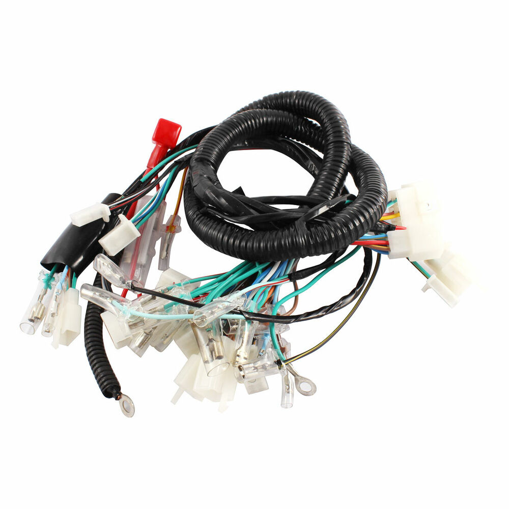 Rebuild Motorcycle Wiring Harness : Motorcycle ultima complete system electrical main wiring
