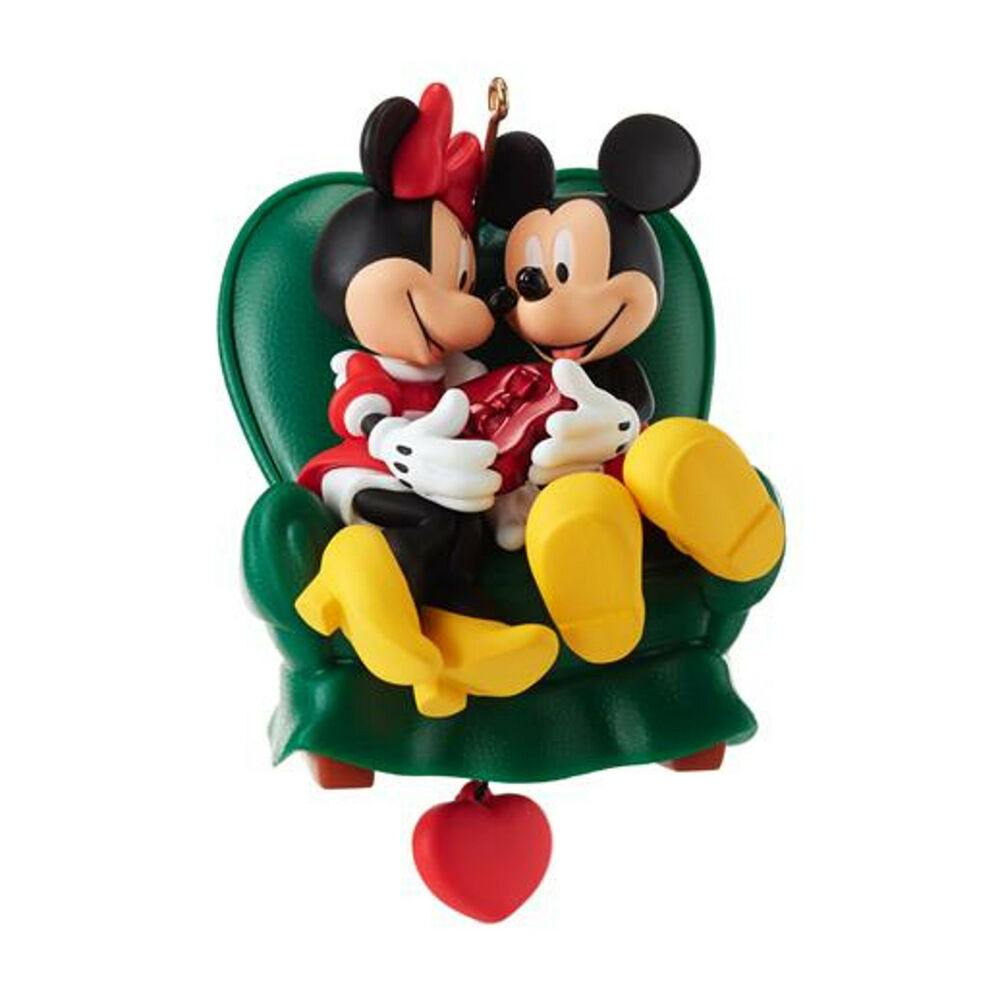 Hallmark 2013 Two In A Chair Mickey And Minnie Mouse