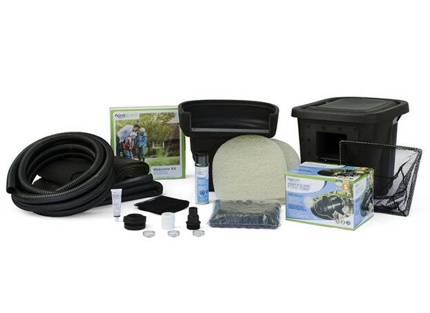 Aquascape 8 39 x 11 39 micropond kit ebay for Garden pond kit