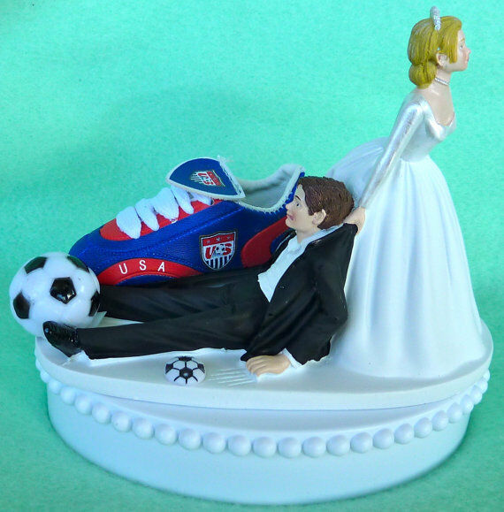 basketball themed wedding cake toppers wedding cake topper united states soccer themed usa sports 11104
