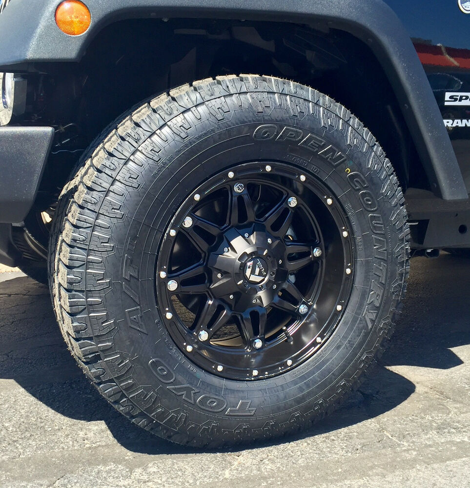 black wheels jeep wrangler jk 33 toyo at2 tires package ebay. Cars Review. Best American Auto & Cars Review