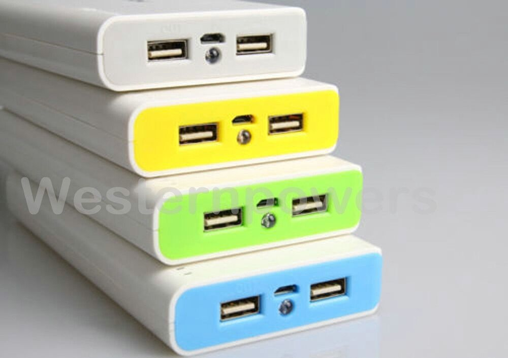 30000mah external travel battery power bank 2x usb charger. Black Bedroom Furniture Sets. Home Design Ideas