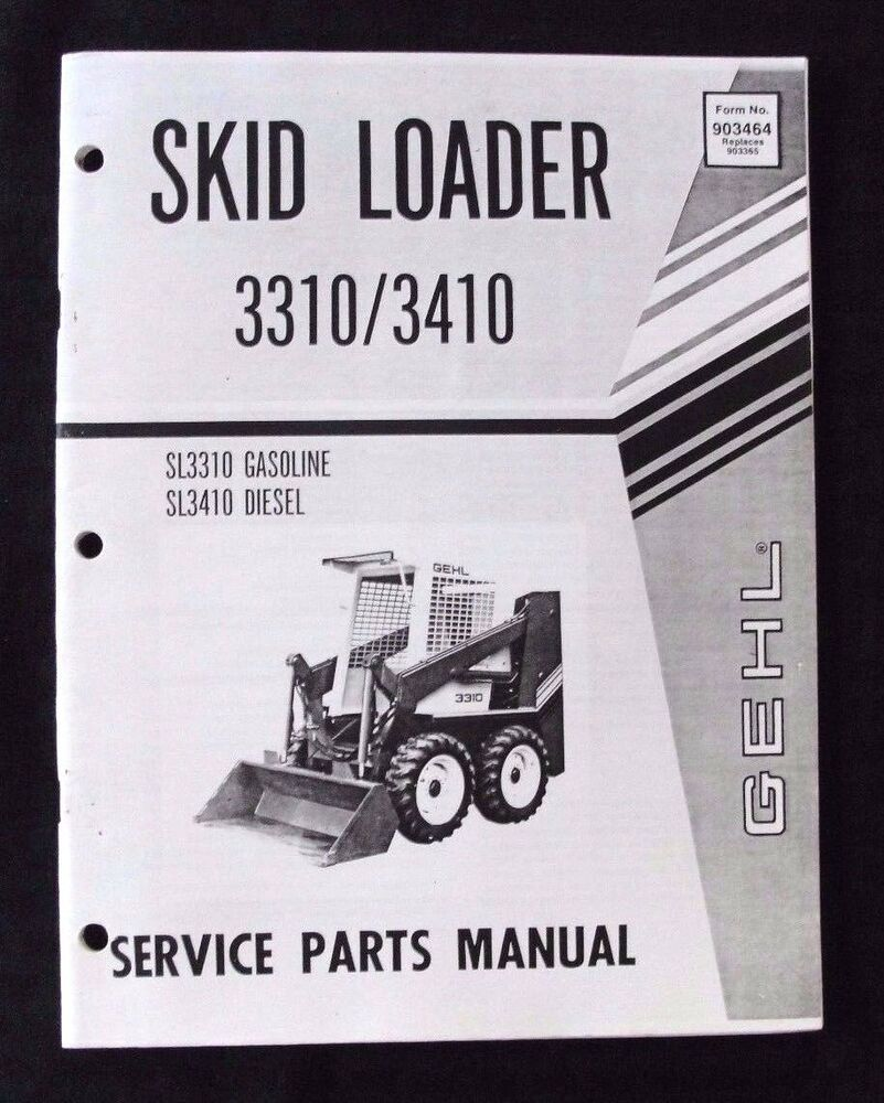 Gehl Skid Steer repair manual