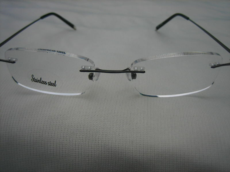 Almost Invisible - Very Lightweight FRAMELESS CLEAR LENS ...