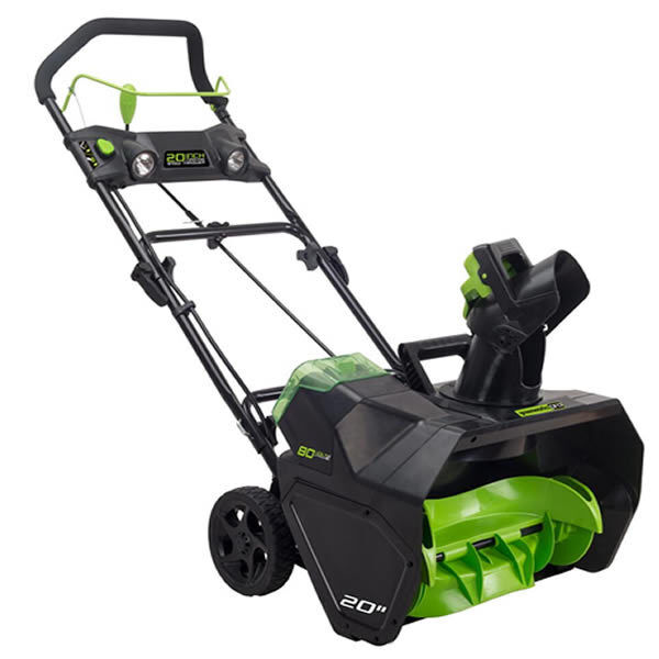 """Greenworks PRO (20"""") 80-Volt Lithium-Ion Cordless Electric ..."""
