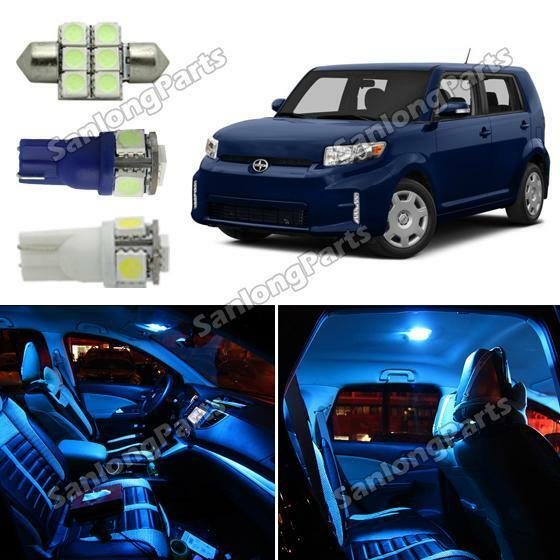 7pcs Duluxe Ice Blue Led Interior Packag For Scion Xb Xd 2008 2016 Ebay