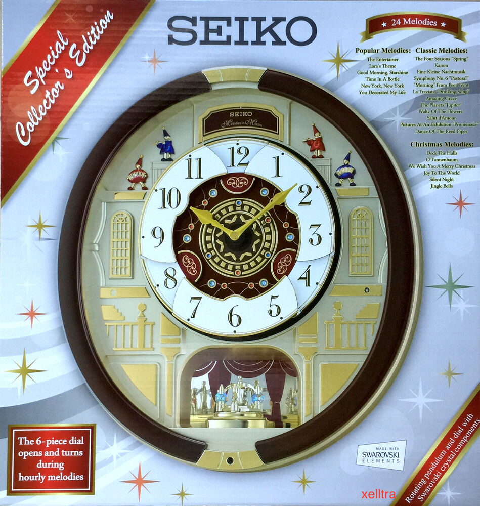 seiko melodies in motion wall clock 2015 special