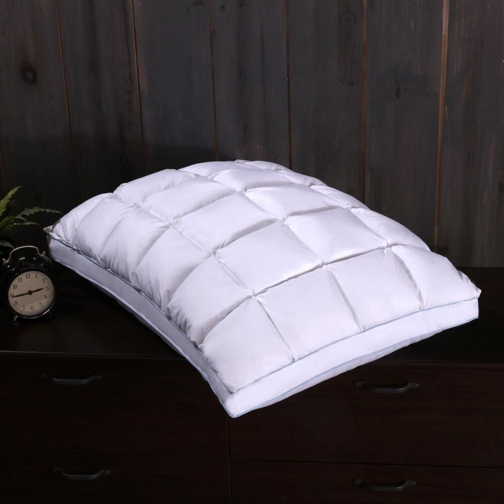 standard size most cooling 100 luxury gel memory foam pillow set of two ebay. Black Bedroom Furniture Sets. Home Design Ideas