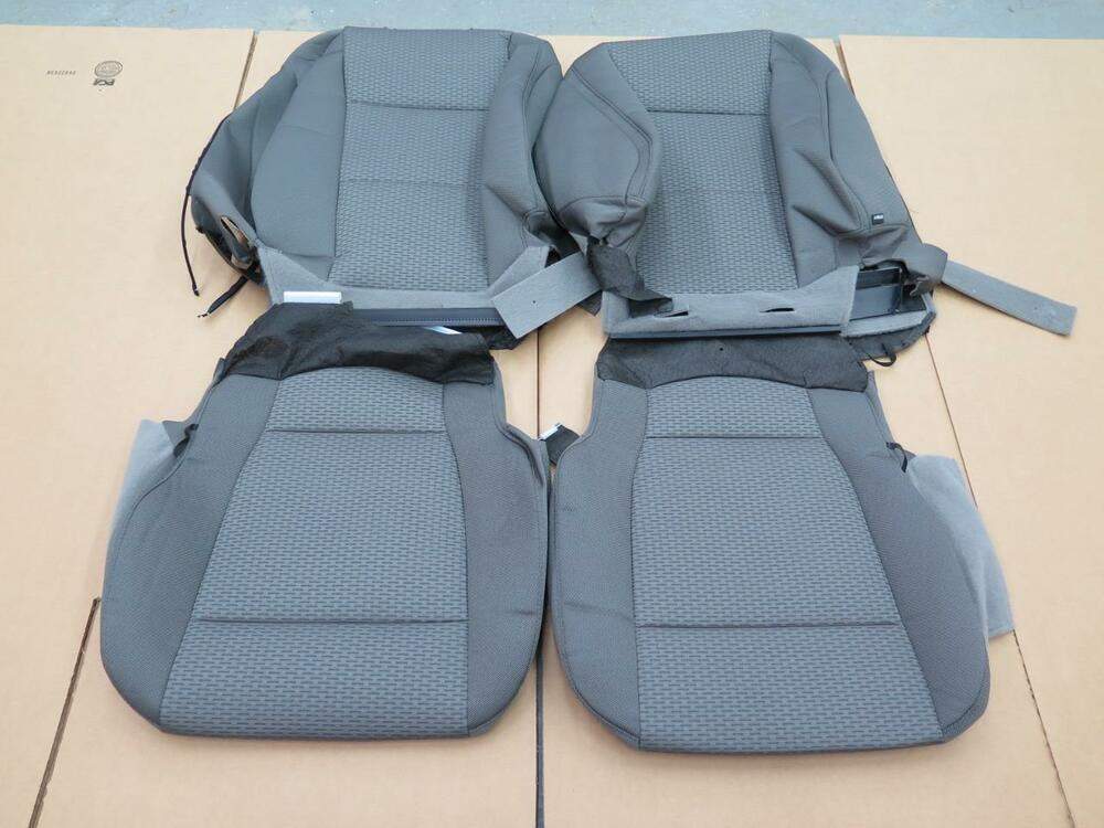 seat f150 ford oem truck front cloth gray xlt earth