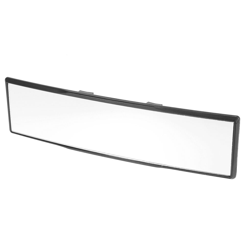 Universal 270mm long wide angle clip on convex curve rear for Long wide mirror
