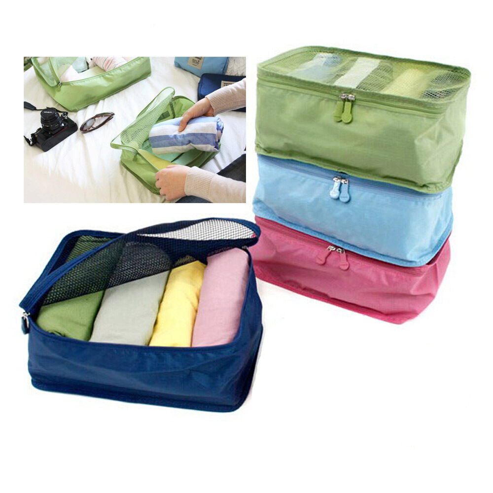 Home Storage Bag Zipper Neat Room Travel Bag For Clothing ...