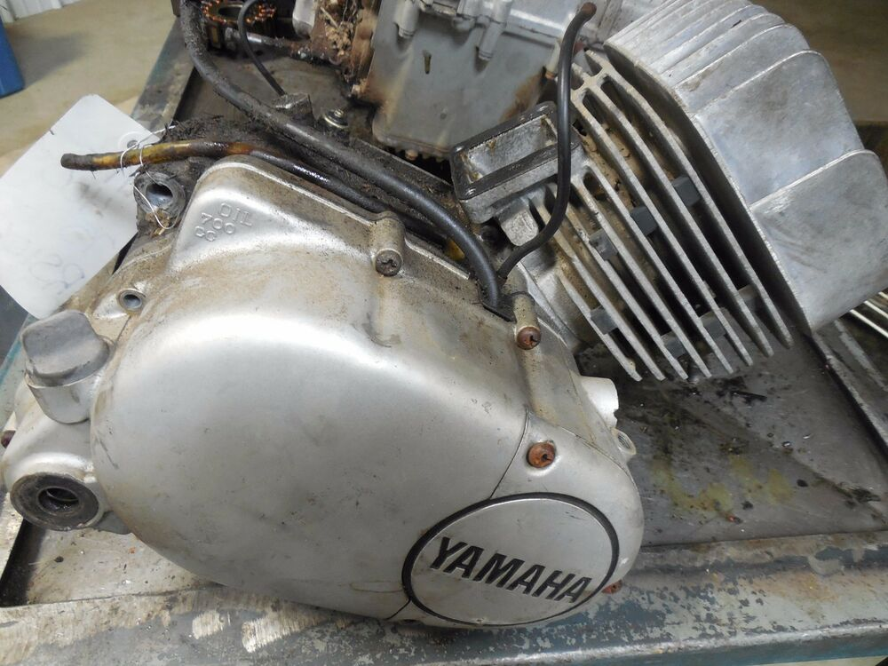 Yamaha rs100 rs 100 complete engine motor rd100 74 75 1975 for Buy yamaha motorcycle parts