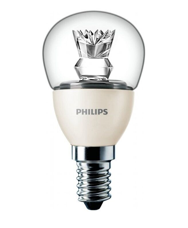 philips 6w e14 led light bulb dimmable ses 40w warm white 470lm 2700k a saver ebay. Black Bedroom Furniture Sets. Home Design Ideas