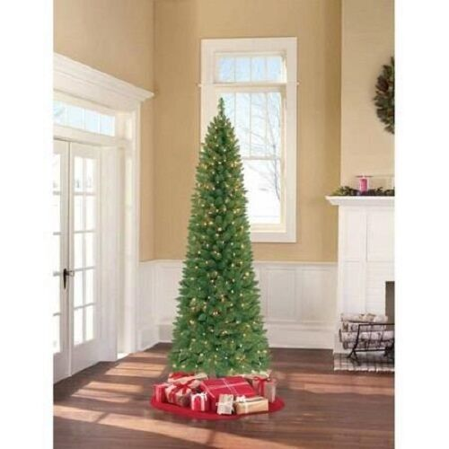 HOLIDAY TIME 7ft BRINKLEY Pre-lit Clear Lights Christmas ...