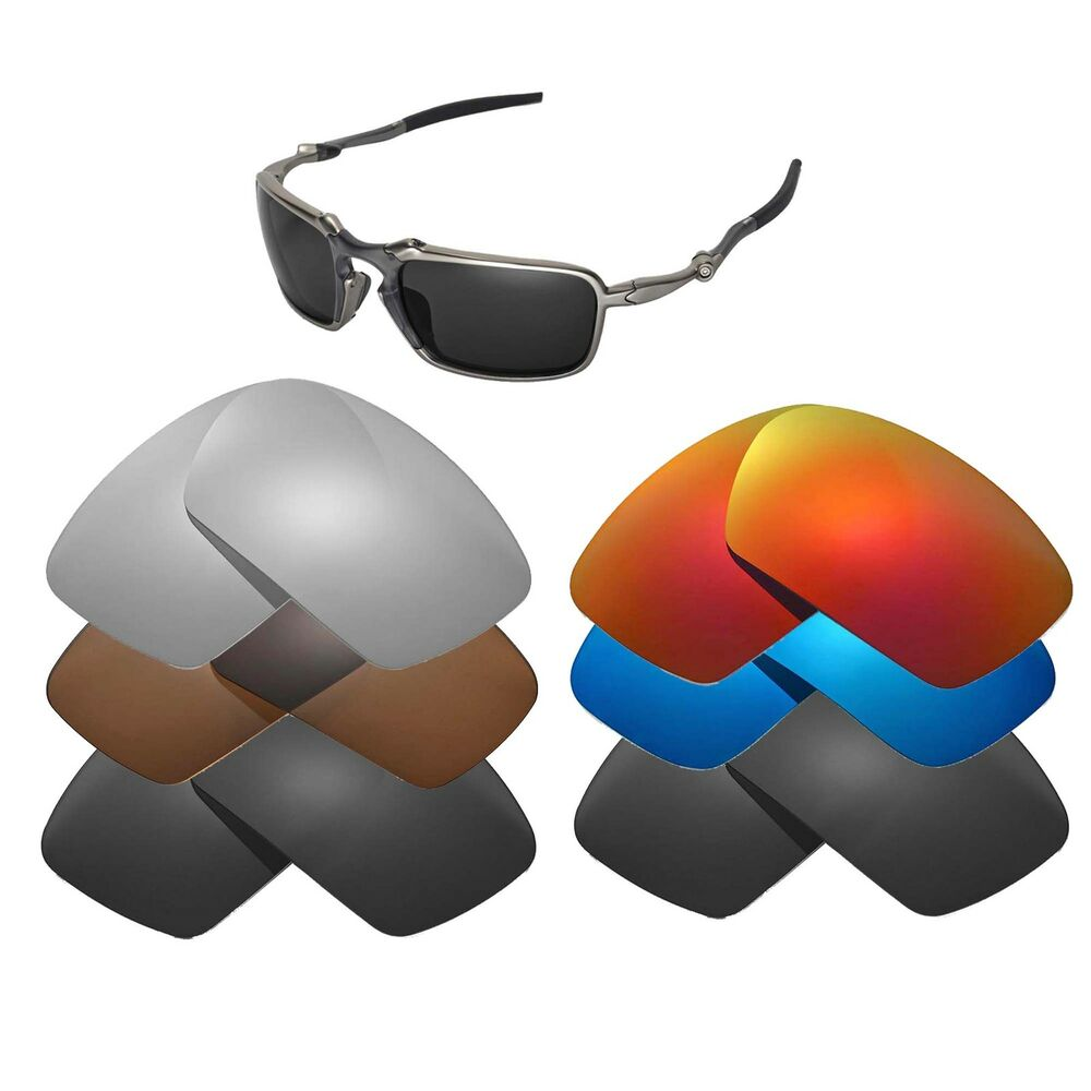 af2c1dadd755c Details about Walleva Replacement Lenses for Oakley Badman Sunglasses -  Multiple Options