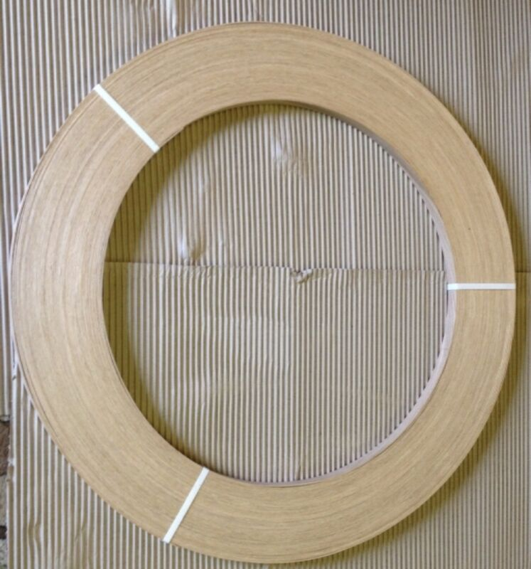 White Oak Unglued Wood Veneer Edging 2mm Thick X 100m
