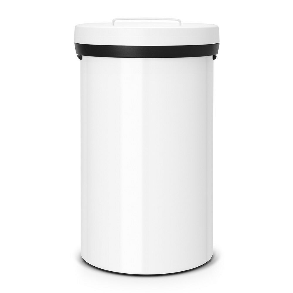 brabantia xl m lltonne big bin m lleimer 60 l weiss ebay. Black Bedroom Furniture Sets. Home Design Ideas