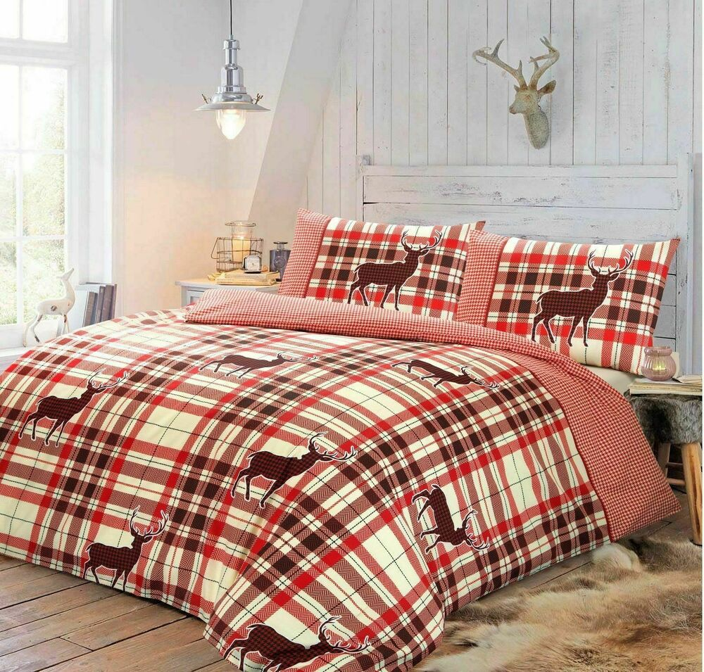 Christmas Duvet Cover With Pillow Case Quilt Cover Bedding