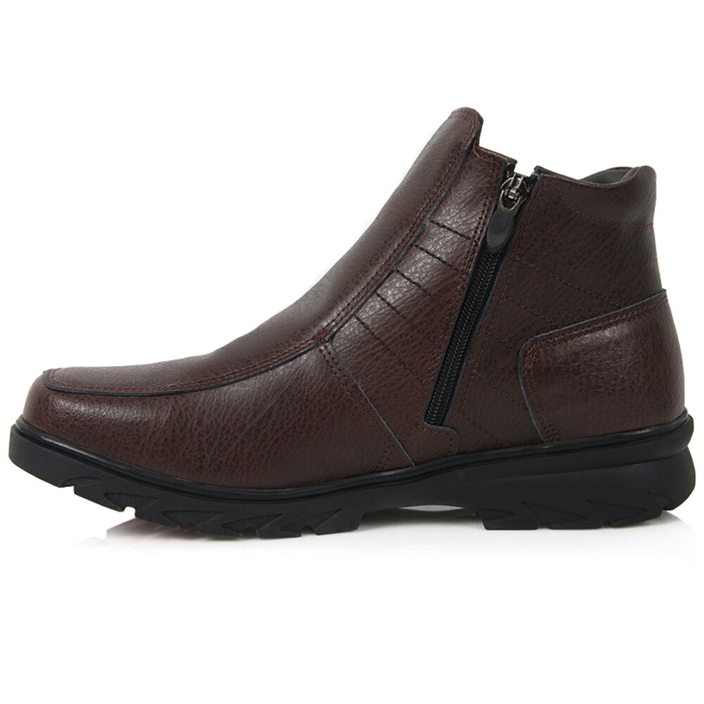 Mens Fur Lined Winter Shoes