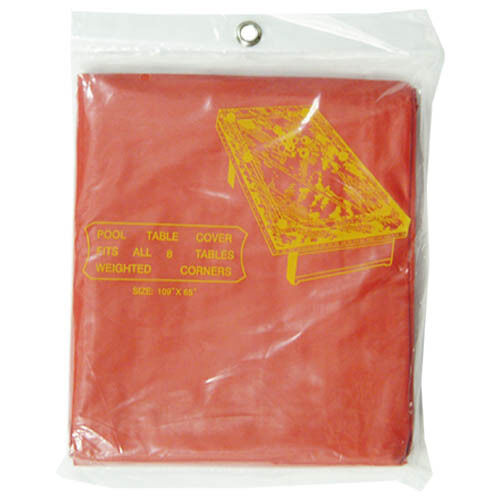 Standard 9 Ft Pool Table Cover Red Ebay