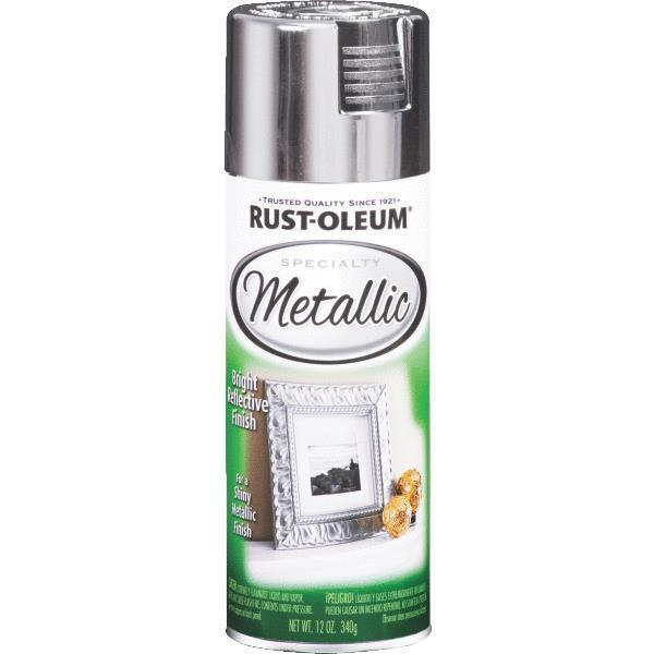 6 Pk 11 Oz Rustoleum Brilliant Silver Reflective Metallic Spray Paint 1915 830 Ebay