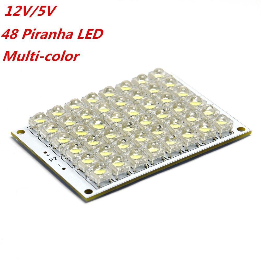 5v 12v led panel board 24 48 piranha led panel red yellow. Black Bedroom Furniture Sets. Home Design Ideas