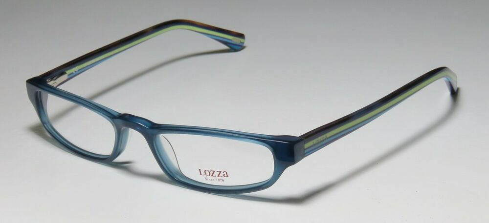 Search Eyeglass Frames By Color : NEW LOZZA 1819N COLOR COMBINATION GORGEOUS CASUAL EYEGLASS ...