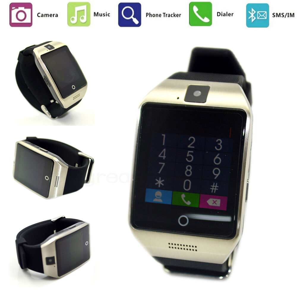 2pcs Bluetooth Smart Watch SIM For Android Samsung Note 5 ...
