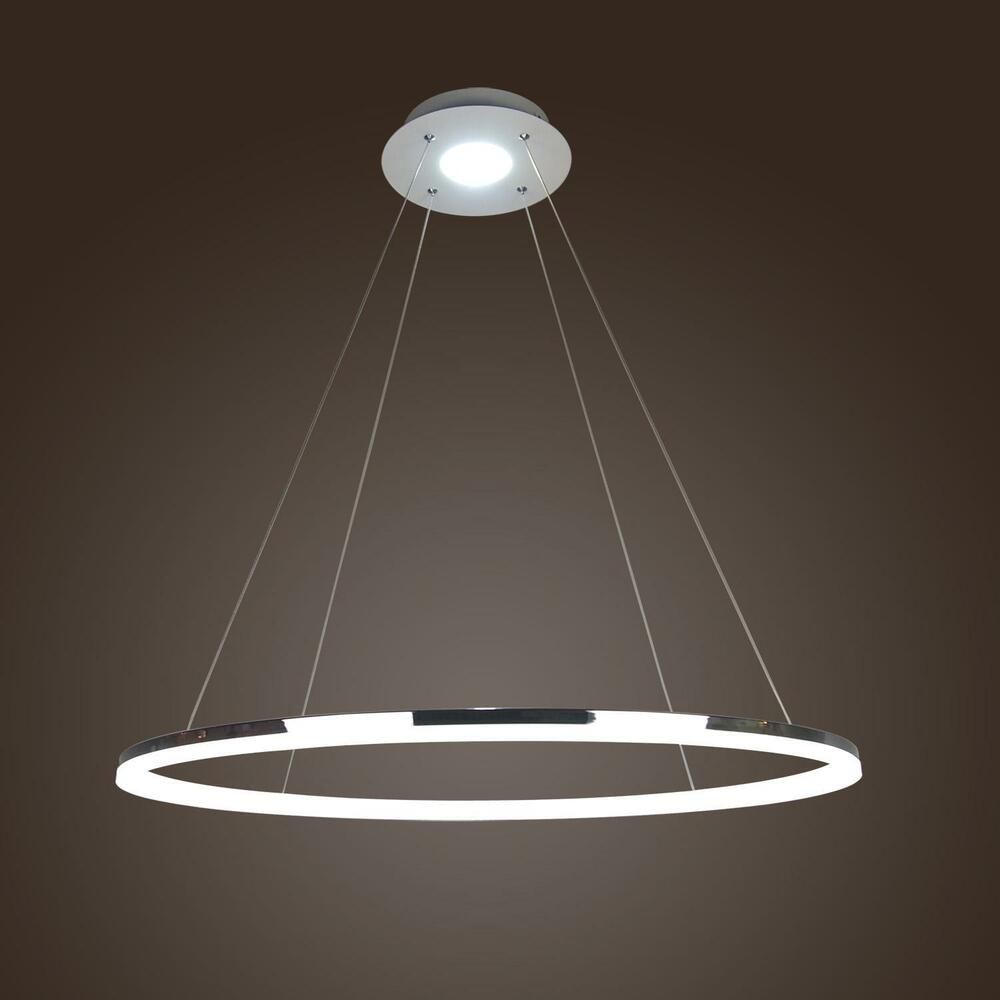 Modern luxury ring pendant lamp ceiling hanging lighting chandelier led fixture ebay - Chandelier ceiling lamp ...