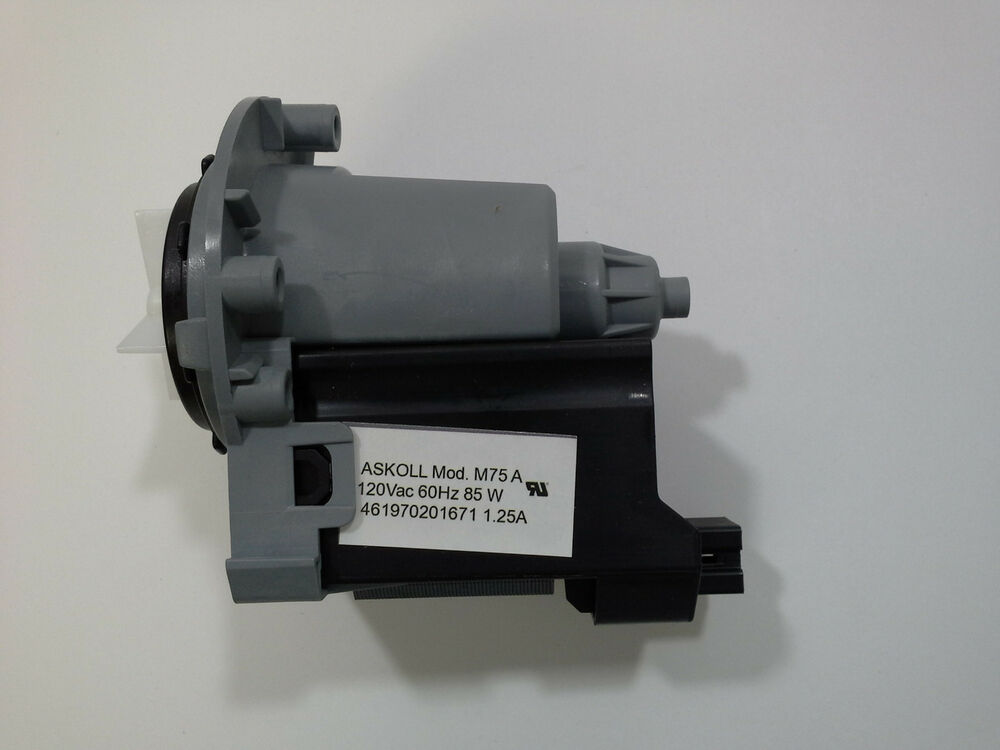 Maytag kitchenaid washer pump 280187 1200164 only motor for Motor for maytag washer