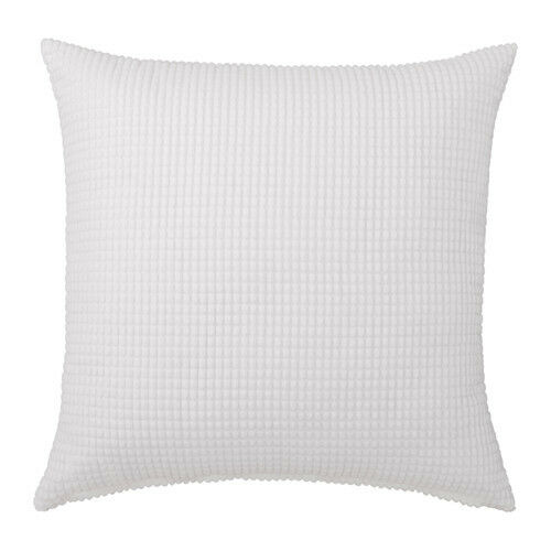 ikea gullklocka cushion cover white 26x26 ebay. Black Bedroom Furniture Sets. Home Design Ideas