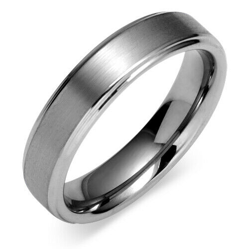 6mm comfort fit mens tungsten carbide wedding band ring size 12 ebay